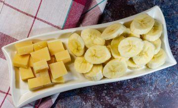 Банан и сыр