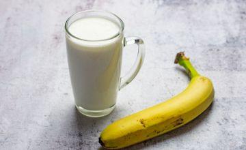 Кефир и банан