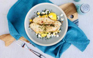 Рыба в польском соусе